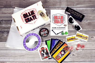 OllieCrate Cyber Monday Deal: Save $6 (Skateboarding Subscription Box)