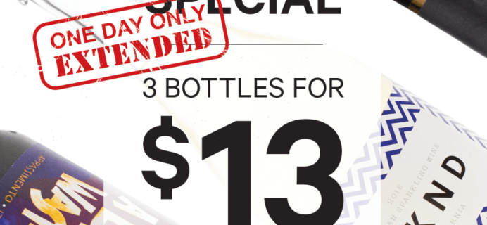 Club W Cyber Monday Deal – 3 Bottles for $13! LAST DAY!