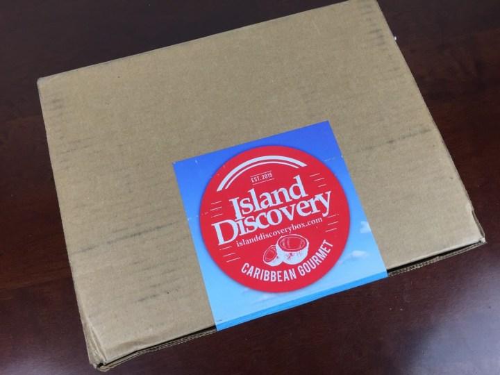 island discovery box holiday november 2015 box