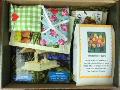 Jade Canopy Gardening Subscription Box Review – November 2015