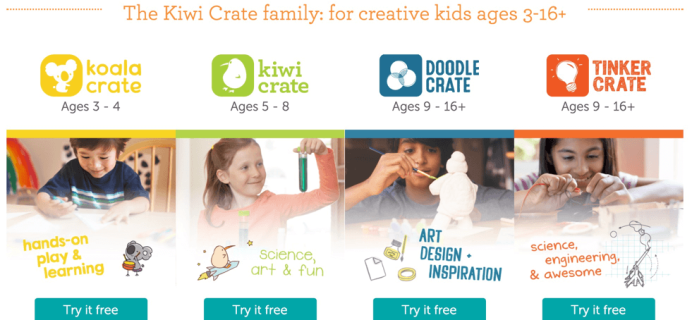 Kiwi Crate Cyber Monday Deal – Free Box Offer! (Deal Continuing!)