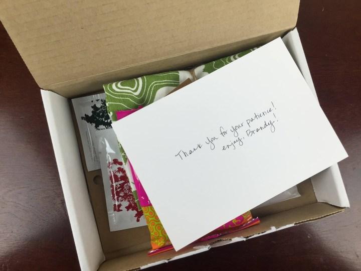 kloverbox october 2015 box