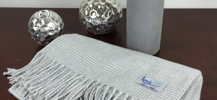 Linen Crate November 2015 Subscription Box Review & $40 Coupon – Bedroom