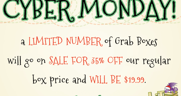 Lit-Cube Cyber Monday Sale (Today!) + December  Spoilers