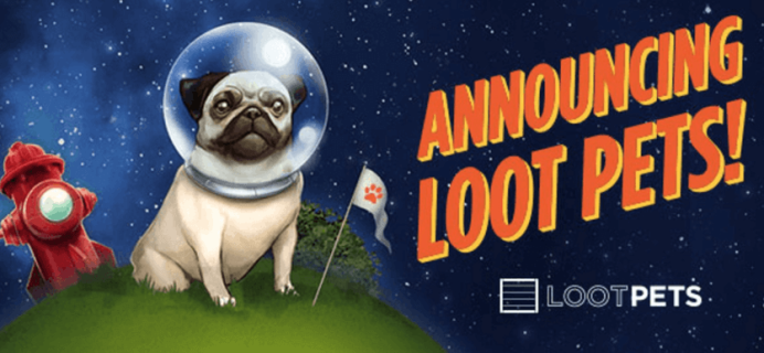 Loot Crate Pets Coming Soon!