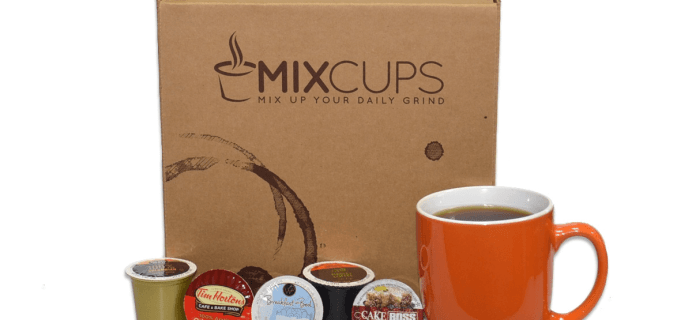 Mixcups K-Cup Coffee Black Friday Deal: $5 Off First Box!