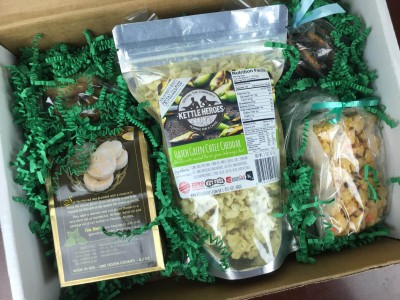 Monthly Munchy Subscription Box Review & Half Off Coupon – November 2015