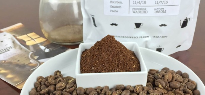 Moustache Coffee Club November 2015 Subscription Review + Free Coffee Offer