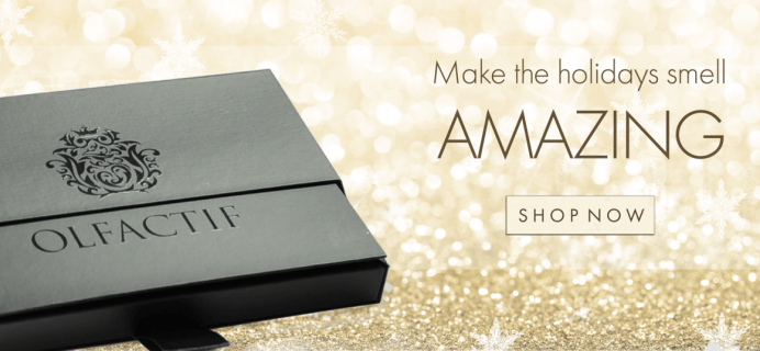 Olfactif Cyber Monday Subscription Box Deals: 15% Off Gift Subscriptions – ENDS TODAY!