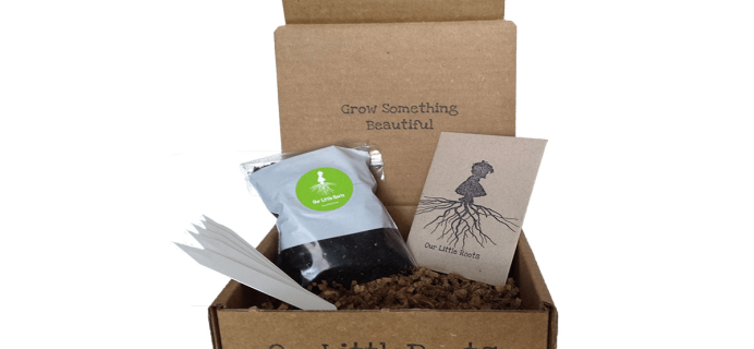 40% Off Our Little Roots Cyber Monday Coupon!  Gardening Subscription Box