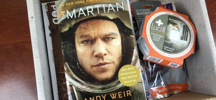 Outer Places' Supply Pod – The Martian Box Review & Coupon