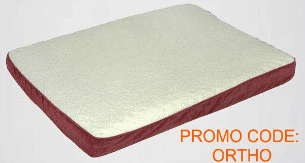 Cyber Monday Pet Treater Sale! Free Orthopedic Dog Bed