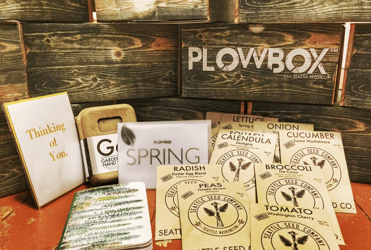 PlowBox Gardening Subscription Box Black Friday Deal 40 Off