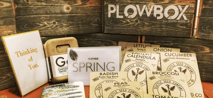 PlowBox Gardening Subscription Box Black Friday Deal – 40% Off!