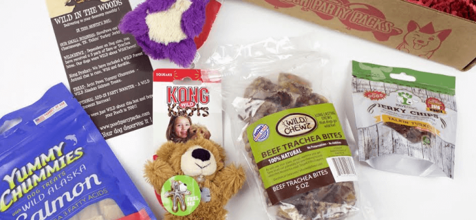 Pooch Party Packs Dog Subscription Box Cyber Monday Deal: Free Toys With Subscription!