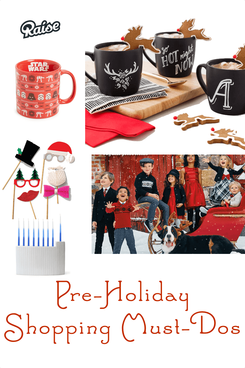 pre holiday shopping guide