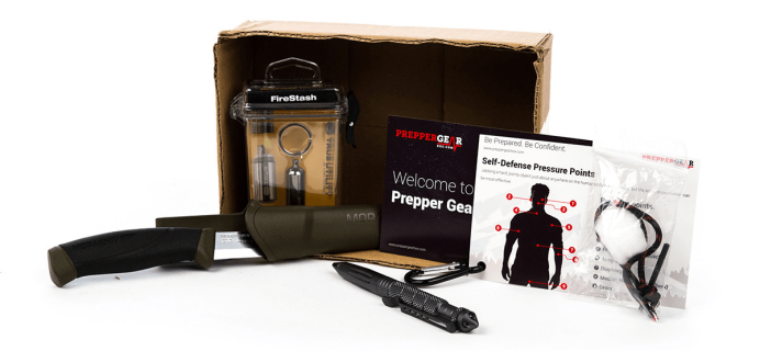 Prepper Gear Box Survivalist Subscription Box Cyber Monday Coupon: 20% Off First Month