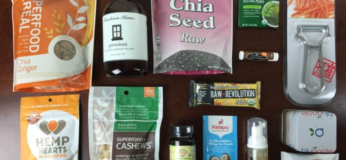 RawBox November 2015 Subscription Box Review & Coupon