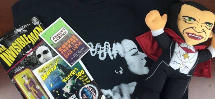 Collectible Geek Monthly Cache Subscription Box Review & Coupon – October 2015