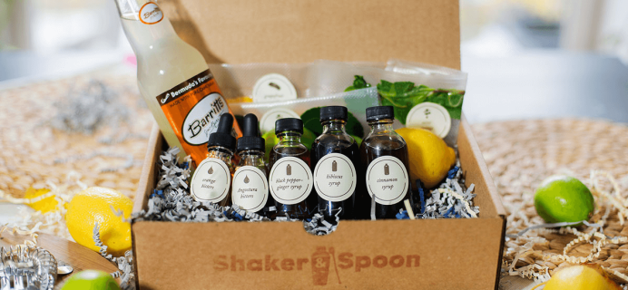Shaker & Spoon Cocktail Club Cyber Monday Deal! Save 25% On First Box!