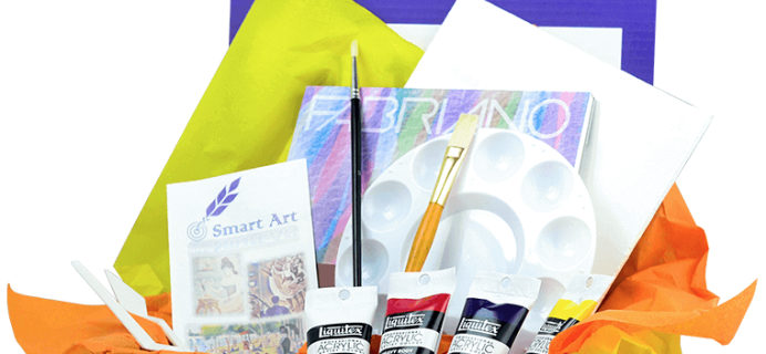 Smart Art Box Cyber Monday Deal: 20% Off Any Length Subscription!