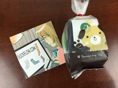Sockflow November 2015 Sockscription Review