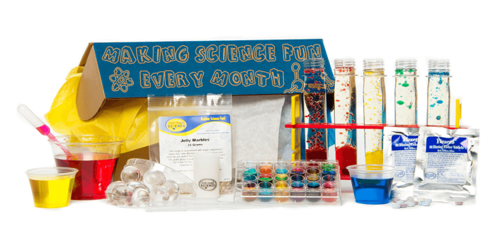 Spangler Science Club Labor Day Sale – Save 50% on First Box of 3+ Month Subscription!