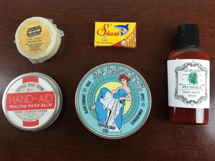 wet shave club women october 2015 review
