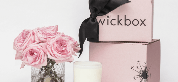 Wickbox Cyber Monday Coupon Code: Save $5 on first month!