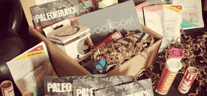 WODBOM CrossFit Subscription Box Black Friday Deal – $10 Off!