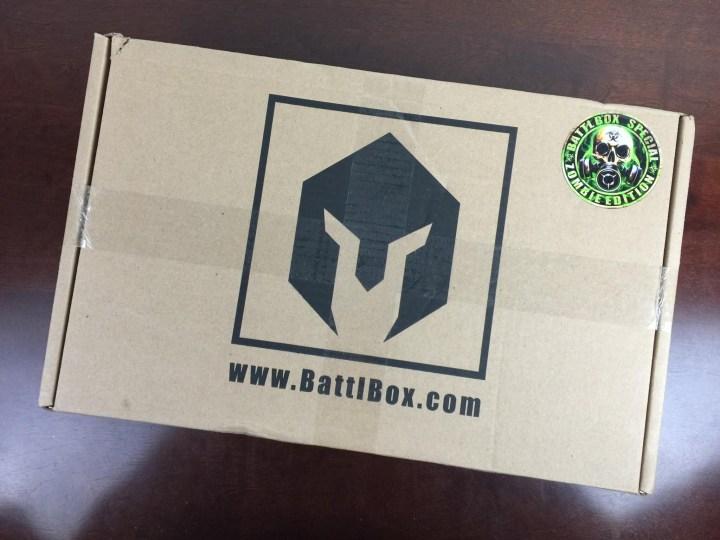 BattlBox October 2015 box