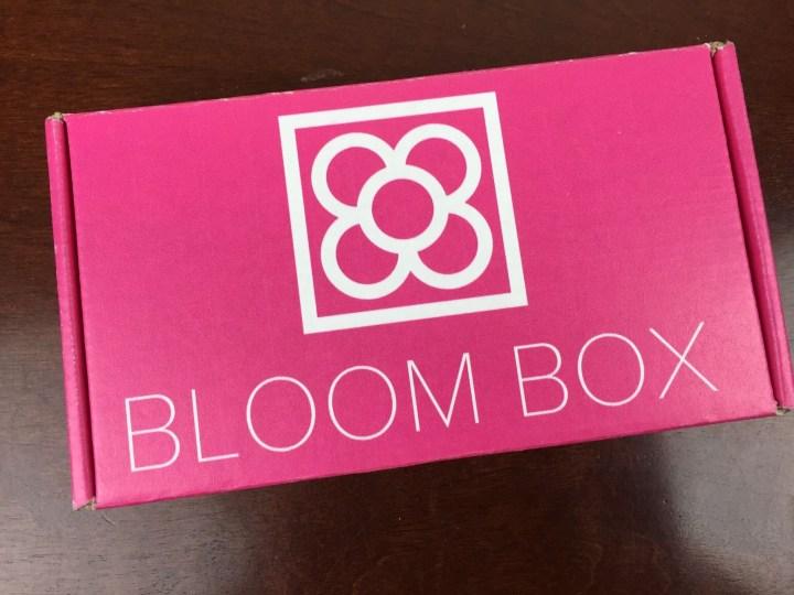 Bloom Box December 2015 box