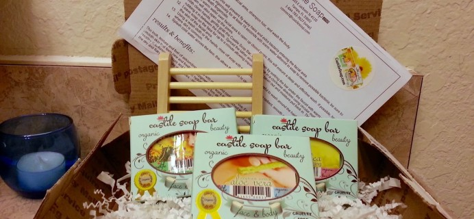 Castile Soap Deluxe Subscription Box Review – November 2015