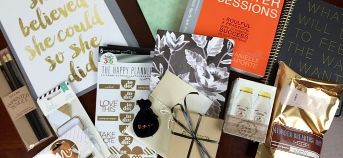 Covet Crate January 2016 Subscription Box Review + 25% Off Coupon