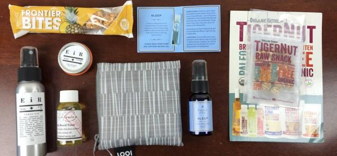 Ecocentric Mom Box November 2015 Subscription Box Review