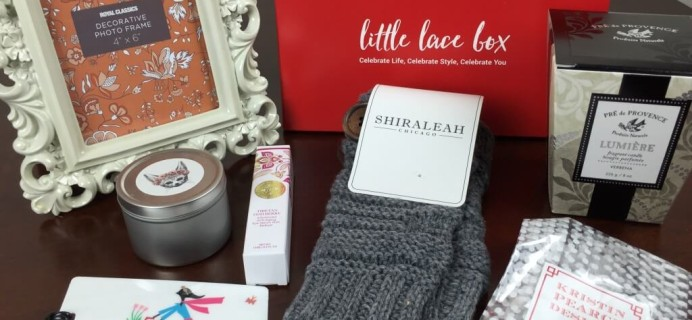 Little Lace Box December 2015 Review & Coupons