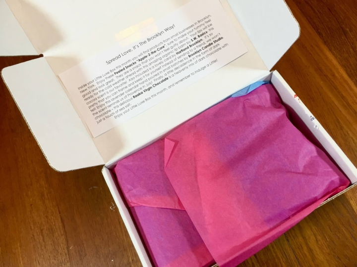 Little Luxe Box December 2015 unboxing