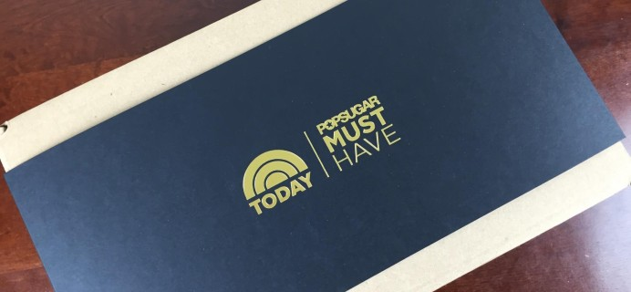 POPSUGAR Must Have Today Show Special Edition Box Review