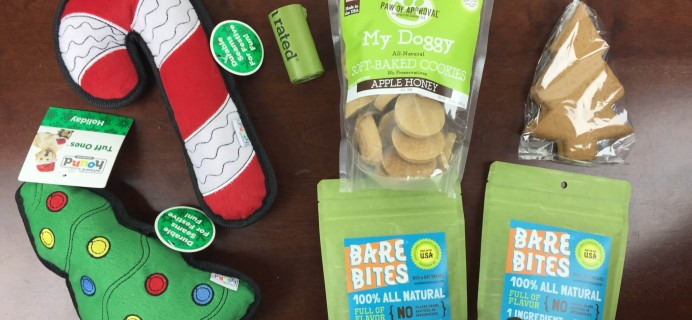 Pupcrate Subscription Box Review & Coupon – December 2015