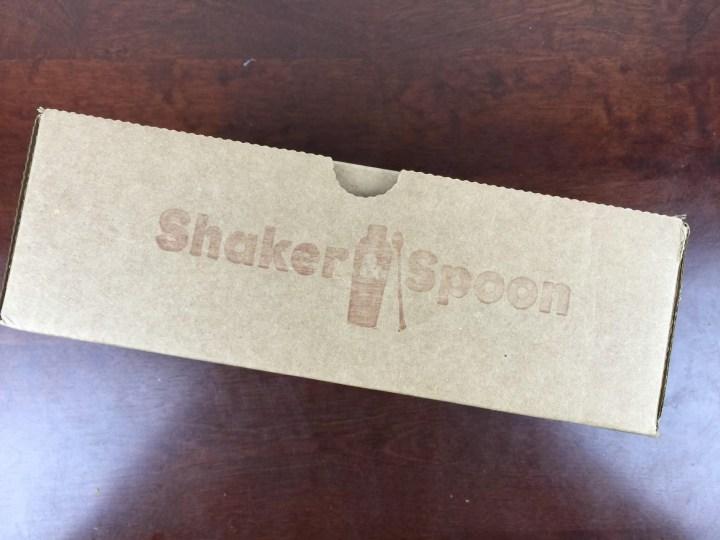 Shaker & Spoon Winter Bourbon Box December 2015 box