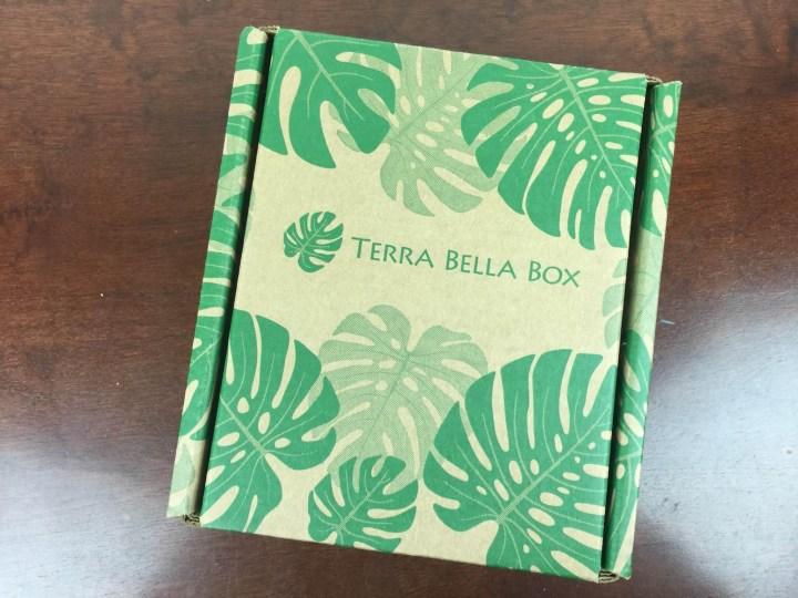 Terra Bella Box December 2015 box