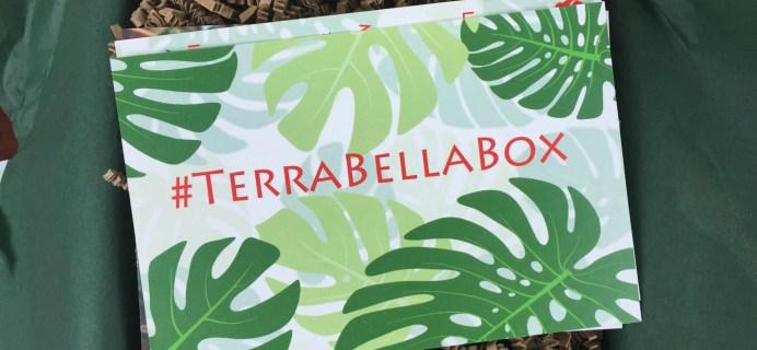 Terra Bella Box December 2015 Subscription Box Review & Coupons