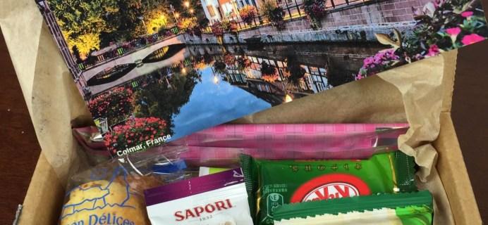 Yummy Bazaar November 2015 Subscription Box Review – Mini Holiday Box