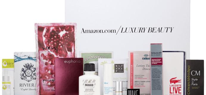 Amazon $9 Luxury Beauty Box: Free With Purchase!