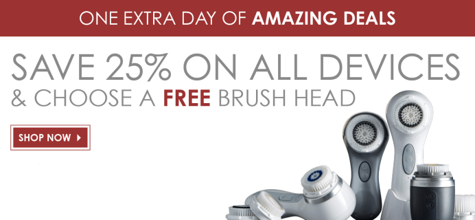 Clarisonic Cyber Tuesday Deals 2015