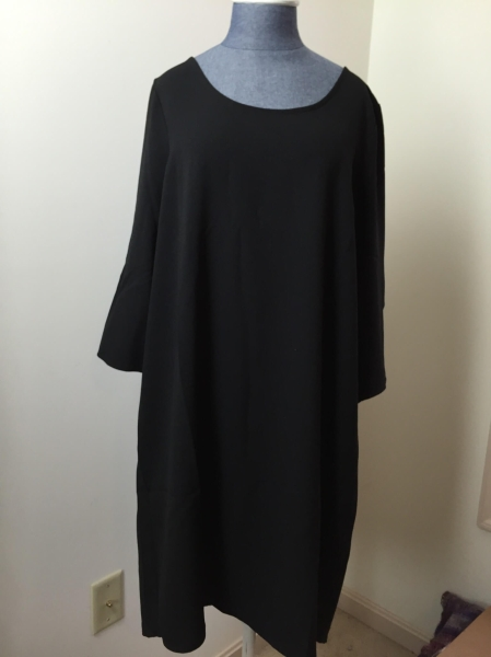 dia & co december 2015 BB Dakota - Three-quarter Sleeve Crepe Dress