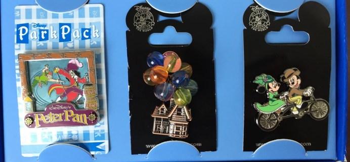 Disney Park Pack December 2015 Subscription Box Review – Pin Trading Box