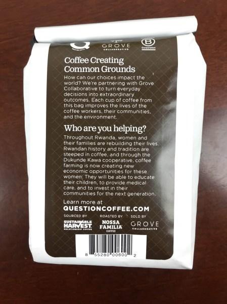 ePantry January 2016 coffee