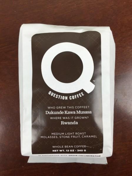 ePantry January 2016 question coffee