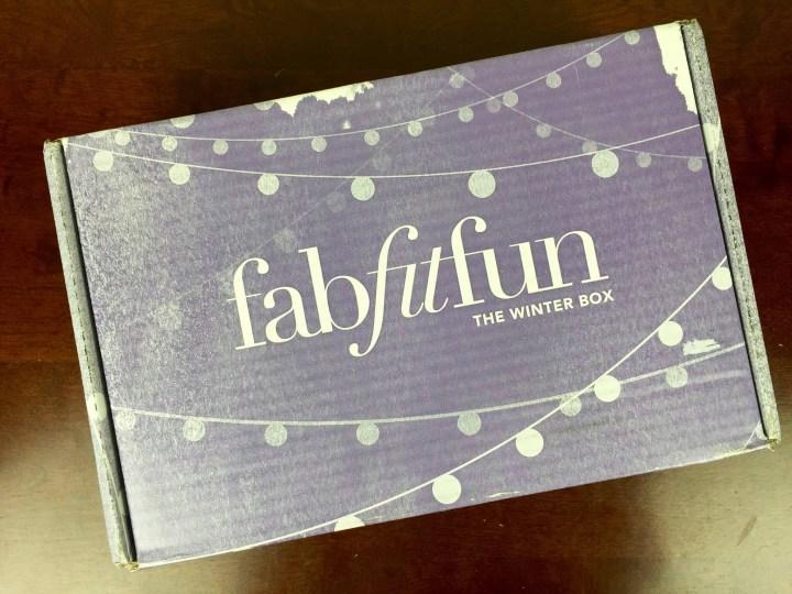 fabfitfun winter 2015 box
